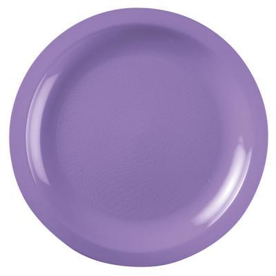 Assiette à dessert incassable lilas 18cm (x10) REF/52752