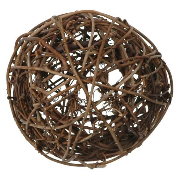 Assortiment boule de rotin chocolat decorative