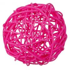 Assortiment boule de rotin fuchsia (x10) REF/2819