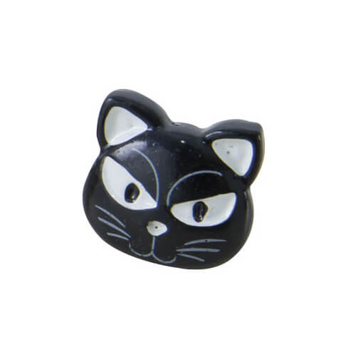 Bague halloween chat noir