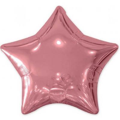 Ballon aluminium étoile rose gold métallique de 50cm (x1) REF/BALM0AERG