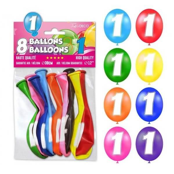 Ballon anniversaire 1an 1