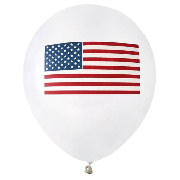 Ballon en latex amerique usa