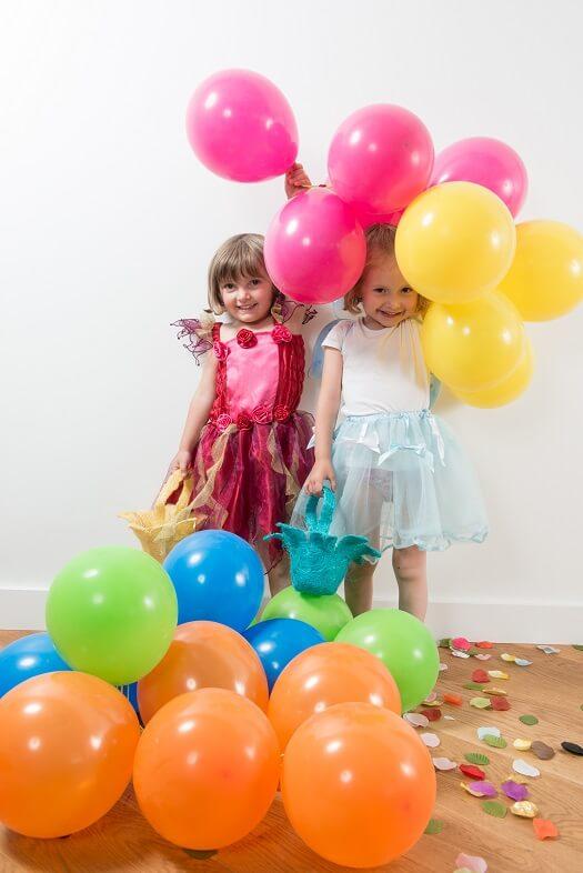 Ballon en latex fuchsia pour fete 1