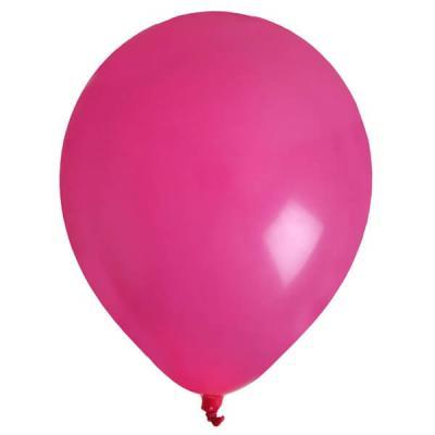 Ballon uni fuchsia (x8) REF/4441
