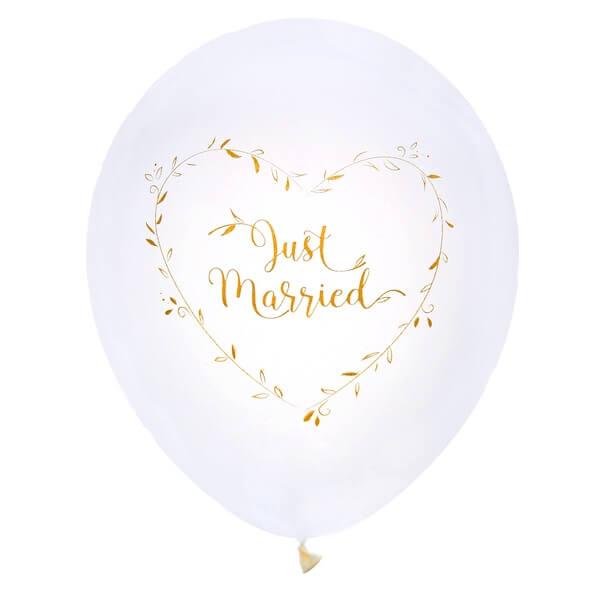 Ballon en latex just married or