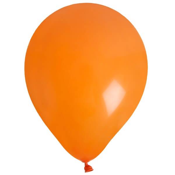 Ballon en latex orange pour fete