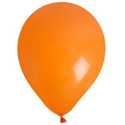 Ballon uni orange (x8) REF/4441