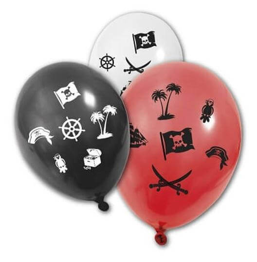 Ballon en latex pirate