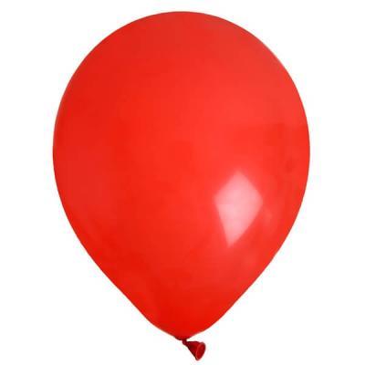 Ballon uni rouge (x8) REF/4441