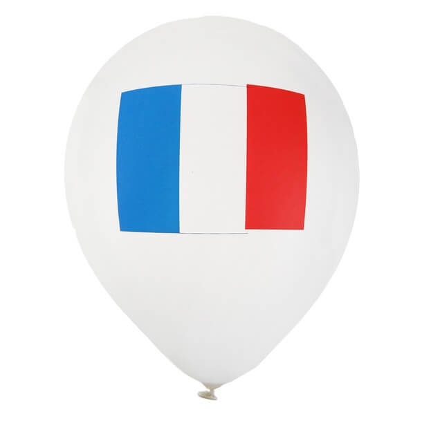 Ballon france tricolore