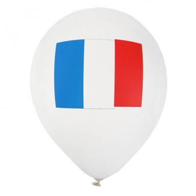 Ballon tricolore France (x8) REF/4466