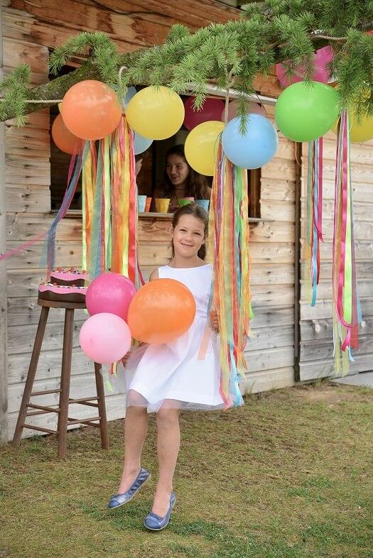 Ballon fuchsia 23cm