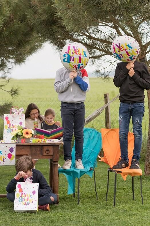 Ballon geant anniversaire aluminium