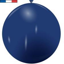 Ballon français géant bleu marine en latex 1m (x1) REF/48759