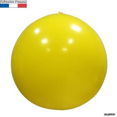 Ballon géant opaque jaune, 1m (x1) REF/3161C