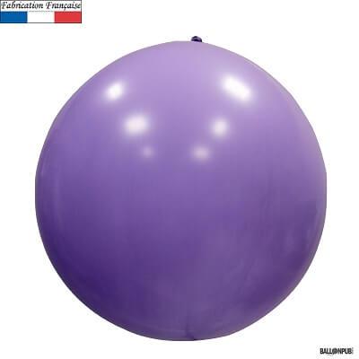 Ballon geant opaque lilas