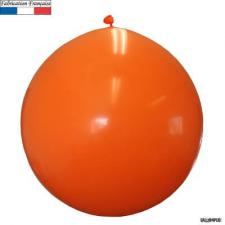 Ballon géant opaque orange, 1m (x1) REF/3215C