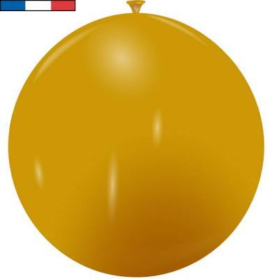 Ballon français géant métallique or en latex 1m (x1) REF/9545C