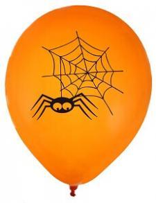 Ballon Halloween araignée rigolote (x8) REF/70343