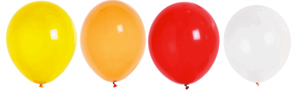 Ballon latex naturel de fabrication francaise