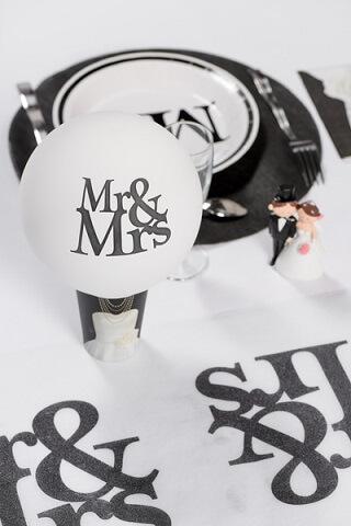 Ballon mariage mr et mrs 3