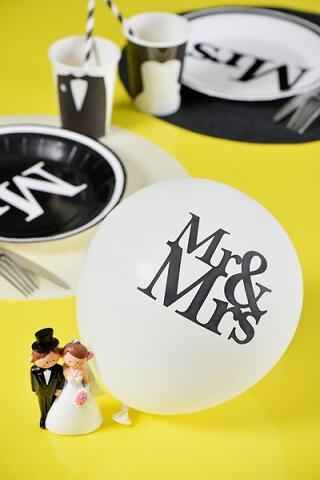 Ballon mariage mr et mrs 4