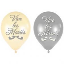 Ballon mariage: Vive les mariés (x8) REF/BALM