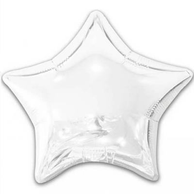Ballon métallique étoile blanc 50cm (x1) REF/BALM0AEBA