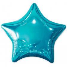 Ballon métallique étoile bleu 50cm (x1) REF/BALM0AEB
