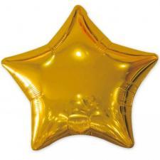 Ballon métallique étoile or 50cm (x1) REF/BALM0AEOR