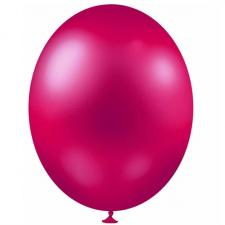 Ballon métallique fuchsia, 30cm (x25) REF/BALC20