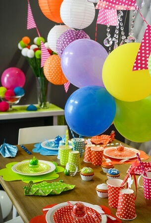Ballon multicolore 2 x50