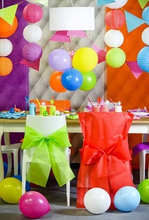 Ballon multicolore 3 x8