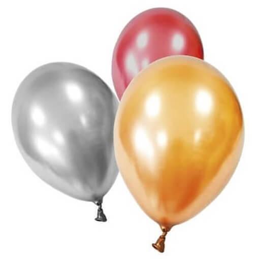 Ballon nacre multicolore en latex