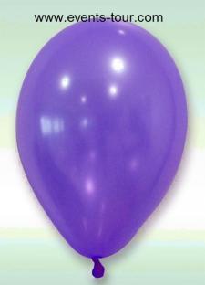 Ballon nacré prune, 30cm (x24) REF/BAL200