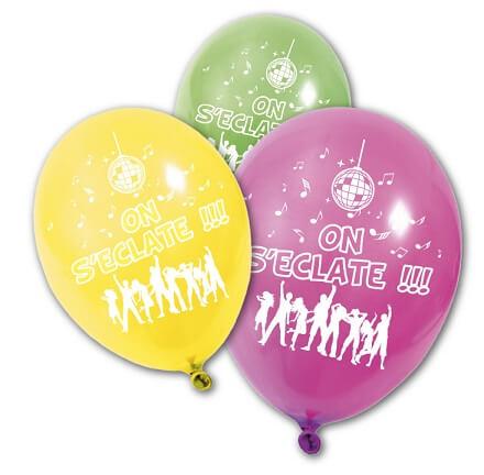 Ballon on s eclate