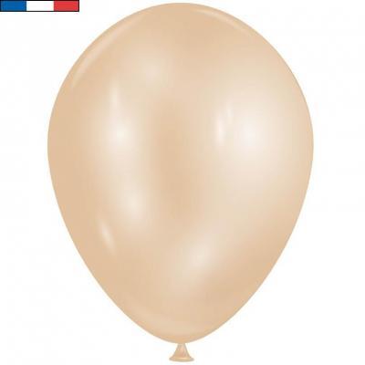 Ballon opaque diamant Or étincelant avec effet Chrome 30cm (x8) REF/52411