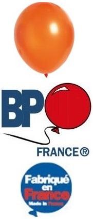 Ballon opaque orange 15cm