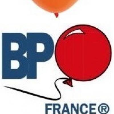 Ballon opaque orange, 15cm (x100) REF/1204