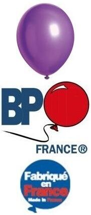 Ballon opaque violet, 25cm (x100) REF/13160