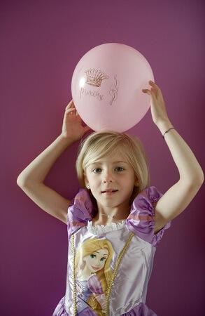Ballon princesse 5