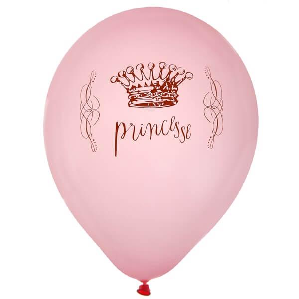 Ballon princesse rose en latex