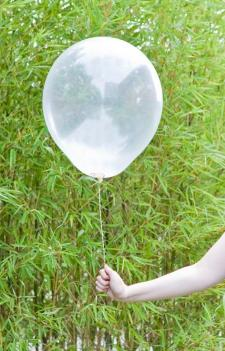 Ballon transparent 47cm (x1) REF/BAL237
