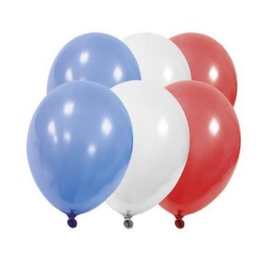 Ballon couleur drapeau France (x12) REF/BA1500