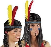 Bandeau indien ou indienne (x1)