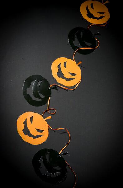 Banderole citrouille halloween 3