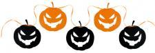 Banderole citrouille d'Halloween (x1) REF/70303