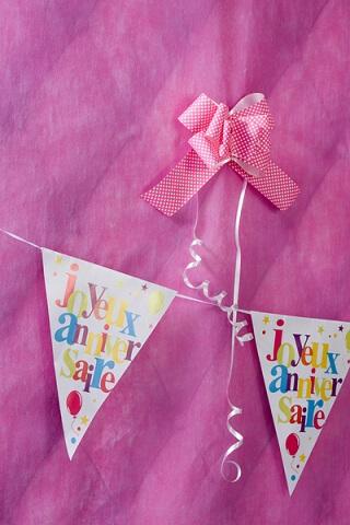 Banderole joyeux anniversaire 6