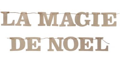 Banderole: La magie de Noël (x1) REF/5535